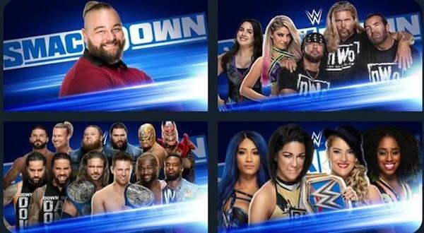 Cartelera de Wwe SmackDown 6 de Marzo del 2020