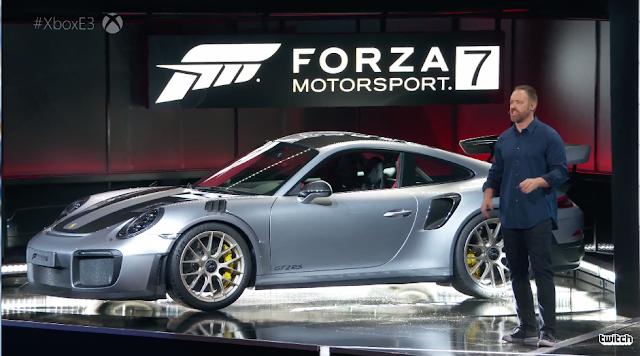 Forza Motorsport 7 Porsche E3 2017 Microsoft Xbox One 911