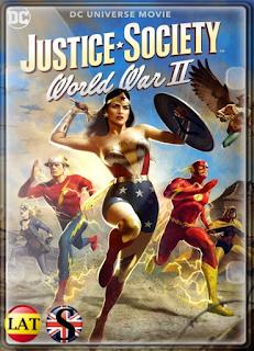 Justice Society: World War II (2021) WEB-DL 720P LATINO/INGLES