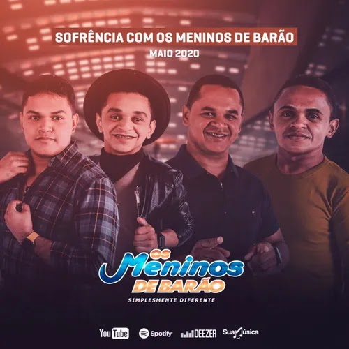 Os Meninos de Barão - CD - Sofrência Com os Meninos de Barão - Maio - 2020