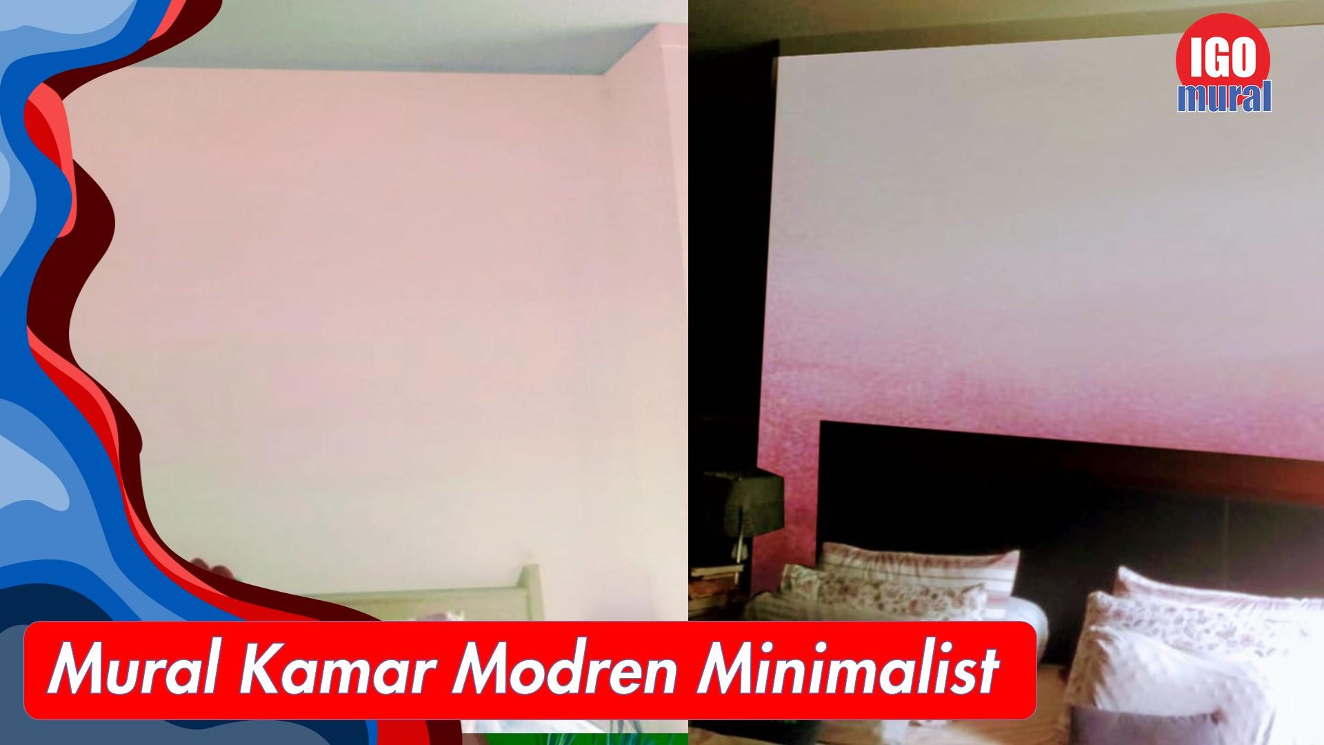 mural kamar modern minimalis