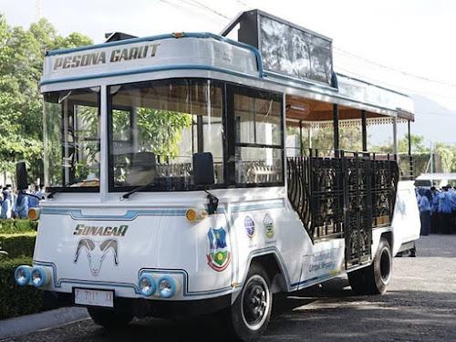Bus wisata sonagar Garut