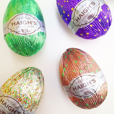 Haigh's Gluten Free Chocolate Easter Eggs Australia