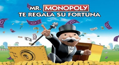 [Sorteo] Monopoly te regala su fortuna - Hasbro