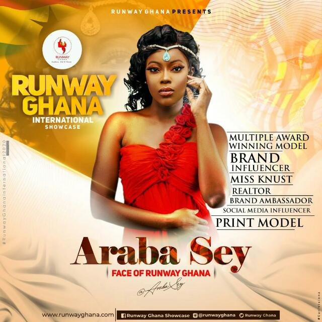 Award Winning Model Araba Sey Named Face Of Runway Ghana 2020