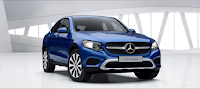Mercedes GLC 300 4MATIC Coupe 2017 màu Xanh Brilliant 896
