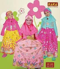 Model Gamis Muslim Syar'i Anak Perempuan Modern Terbaru