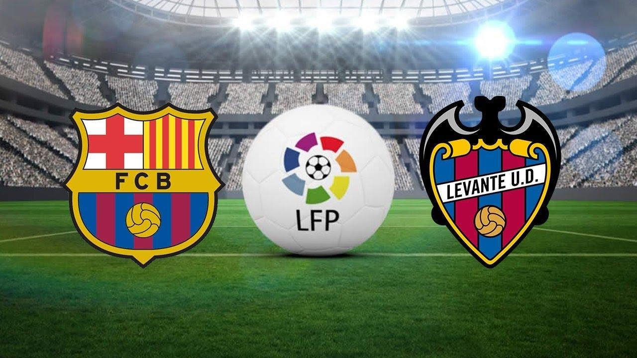 مباراة برشلونة وليفانتي بث مباشر الدوري الإسباني