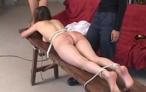 Homemade flogging her 11