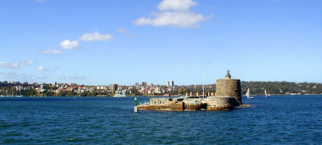 Fort Denison, Sydney Harbour. Australia. Photographed by Susan Walter. Tour the Loire Valley with a classic car and a private guide.