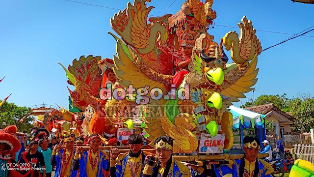 Arak arakan Singa Dangdut kesenian khas Pantura Subang, Indramayu dan cirebon