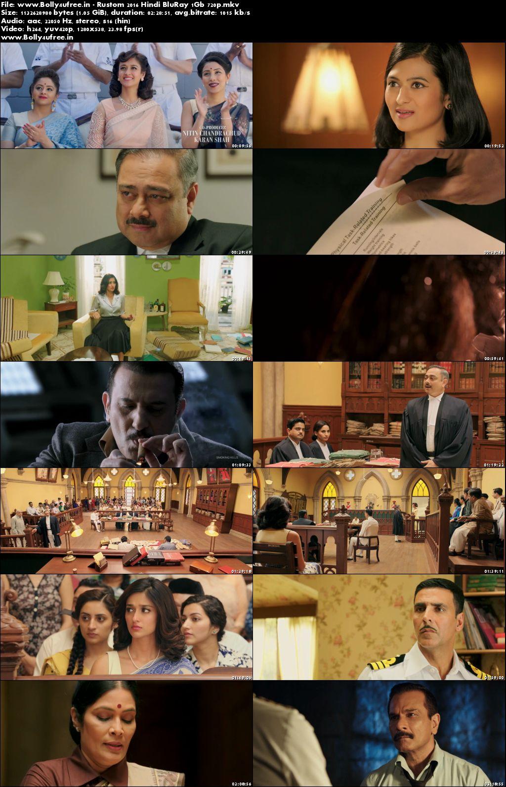 Rustom 2016 Full Hindi Movie Download 400Mb 480p BluRay