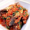 Ikan kembung balado kemangi Dan Tumis Jamur Tiram