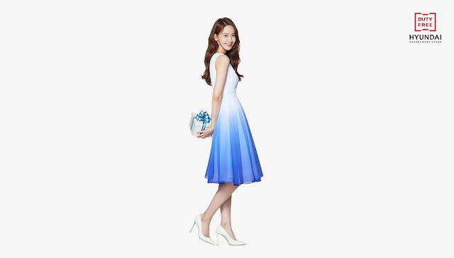SNSD YoonA Hyundai Department Store