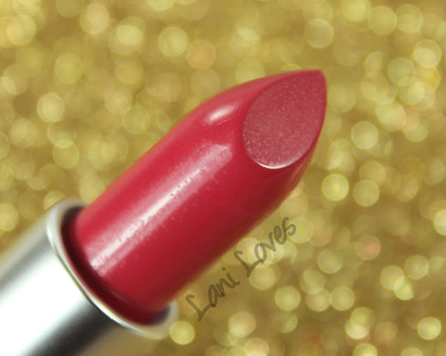 MAC MONDAY | MAC is Beauty - Diva-ish Lipstick Swatches & Review
