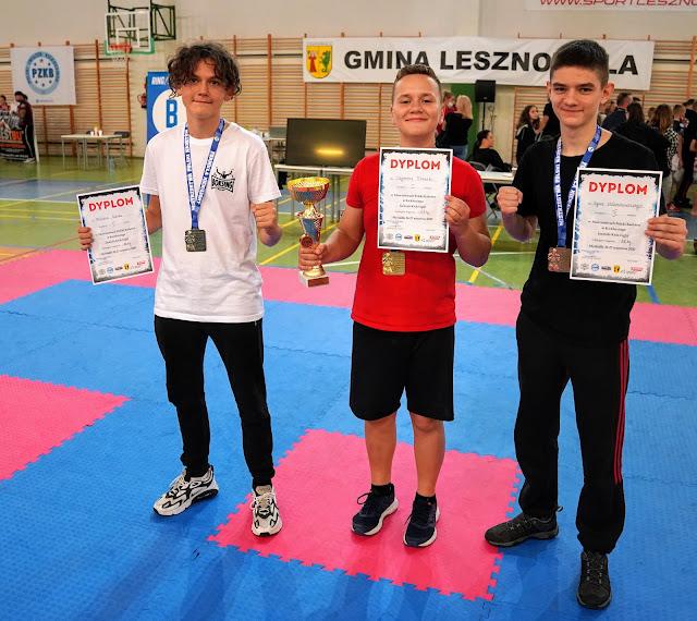 Akademia Zwycięzcy, Kinga Szlachcic, Medaliści MP Kadetów Kick Light-Mysiadło 2020