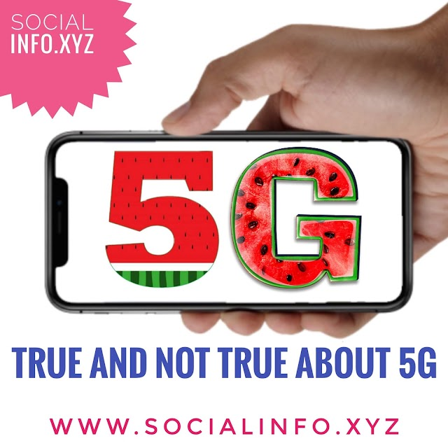 What's true and Whats's not about 5G: the next-gen network.