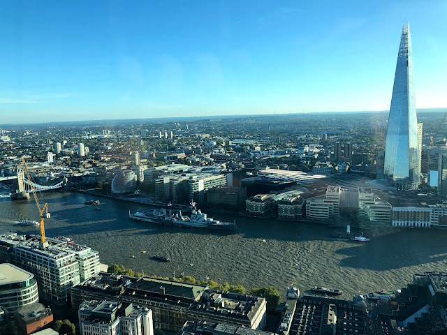 Sky Garden London tips The River Thames The Shard