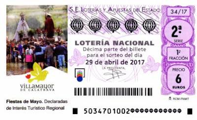 decimos de loteria nacional del sabado 24 de abril de 2017
