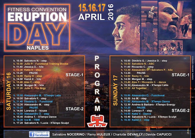 Eruption Day XI edizione, 15-16-17 aprile 2016 a Napoli