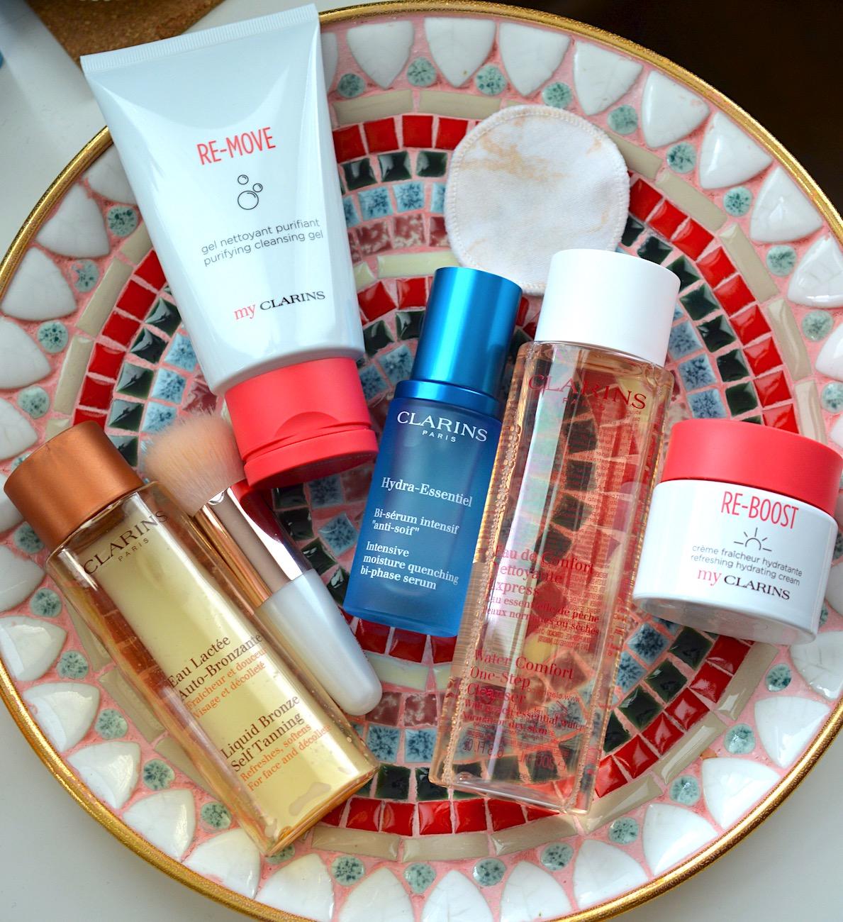 Clarins Skincare Used