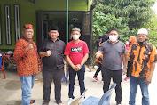 Ketua Pewarta Melayat ke Rumah Bendahara Koti MPC PP Kota Medan