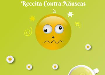 Receita Contra Náuseas: Chá de Camomila
