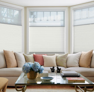 Duette Honeycomb Shades combine beauty with energy efficiency.