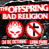 The Offspring y Bad Religion por primera vez juntos en Buenos Aires