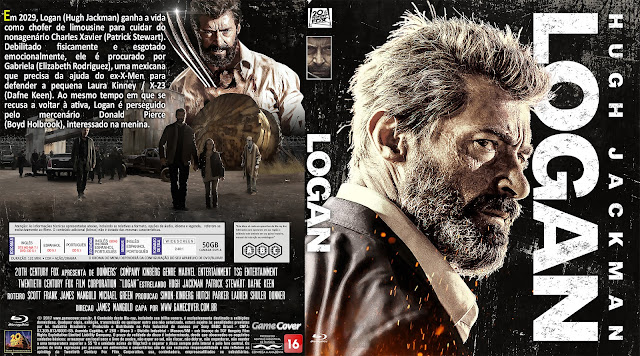 Capa Bluray Logan [Exclusiva]