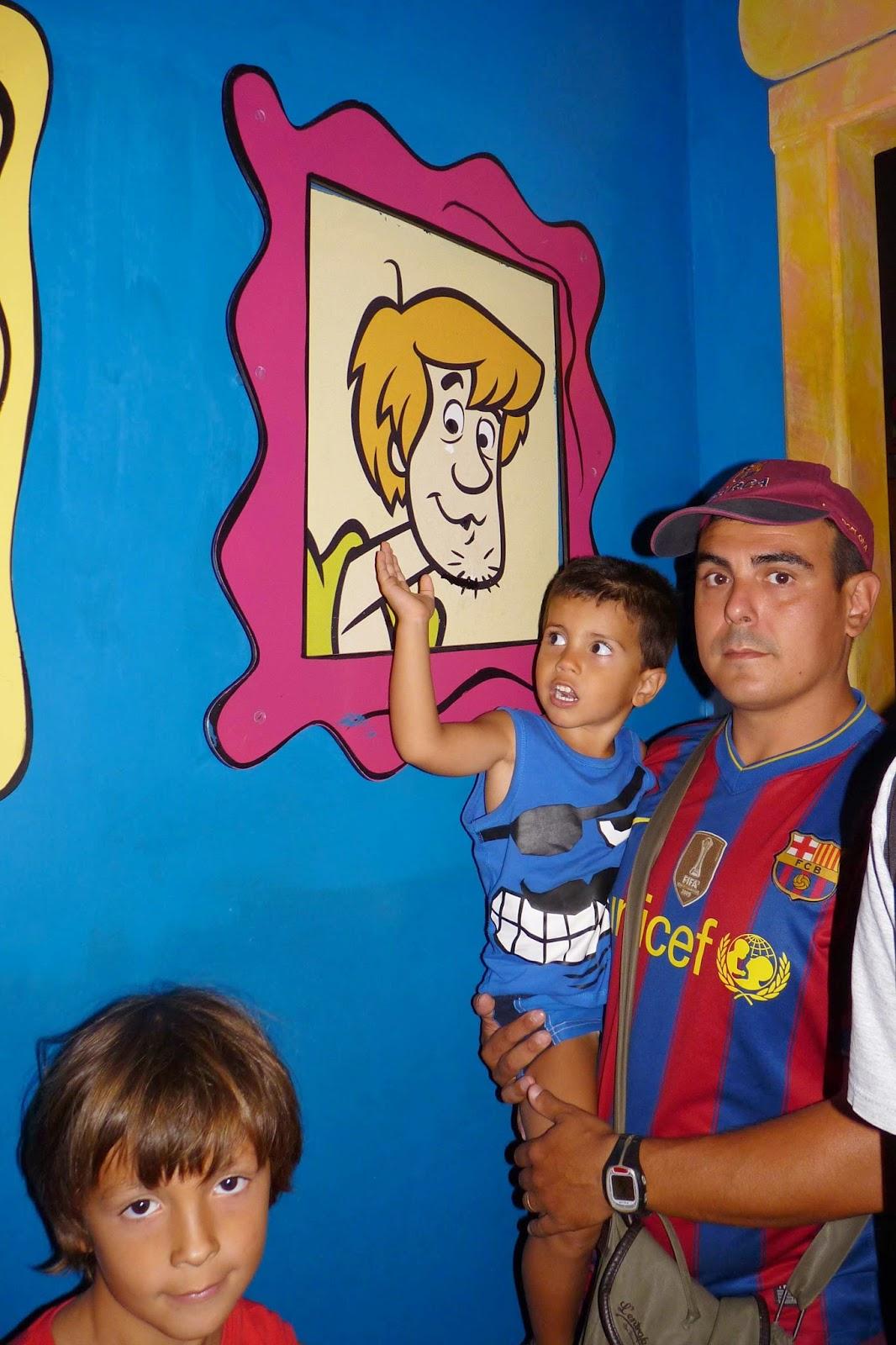 Las Aventuras de Scooby Doo.