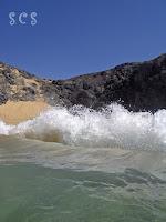 Playa Papagayo, Lanzarote by Susana Cabeza