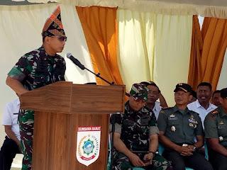 Pangdam IX/Udayana Di Tanah Pariri Lema Bariri Himbau Masyarakat Jaga Kebhinekaan