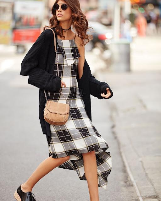 Чокер с подвеской с платьем комбинацией