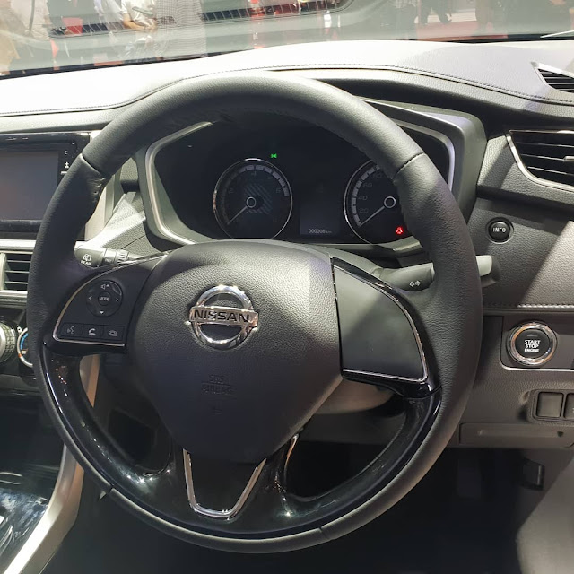 steering all new nissan livina