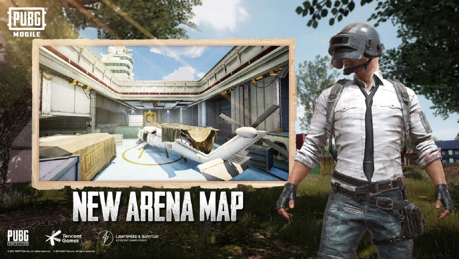 New TDM Map in Pubg Mobile