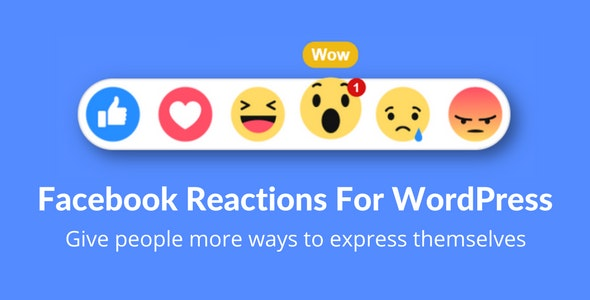 Facebook Reactions For WordPress v2.0