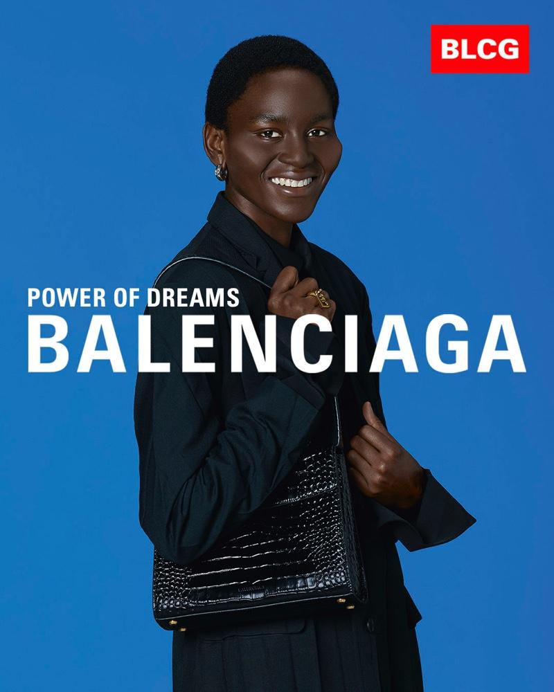 Jannel Samantha Duncan appears in Balenciaga spring-summer 2020 campaign