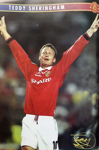 PIN UP TEDDY SHERINGHAM (MANCHESTER UNITED)