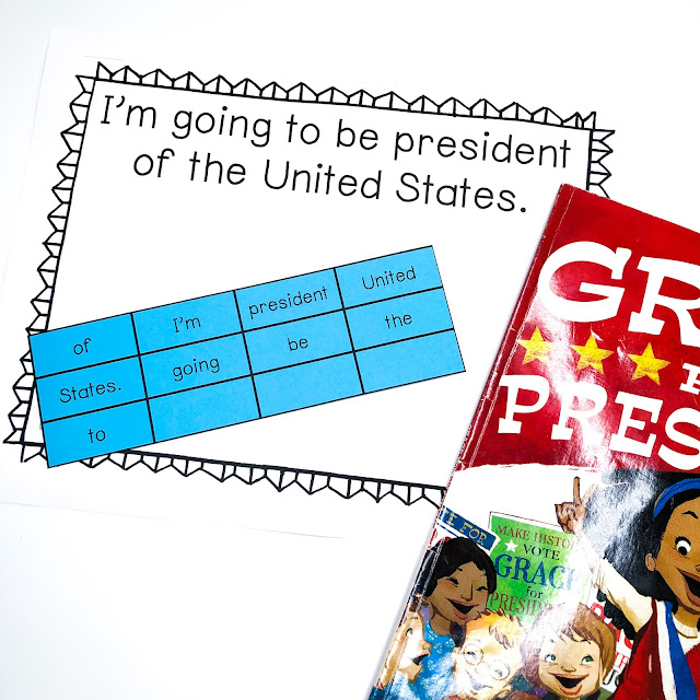 grace for president read aloud grace for president activities