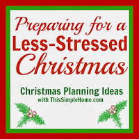 Prepare for a less stressed Christmas with lots of practical tips.