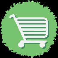 cart social button