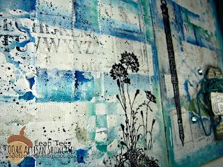 OOAK Artisans Leah Tees Art Journal