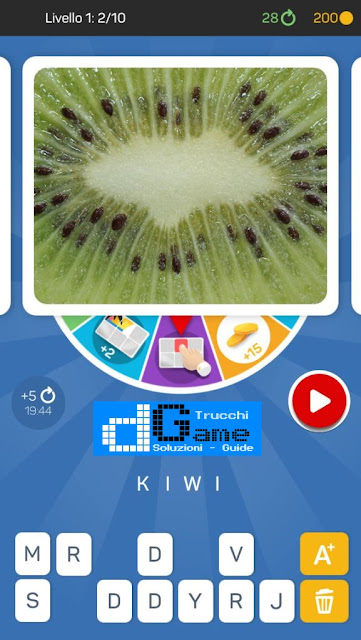 Kezako: Immagine Misteriosa soluzione pacchetto 1 livelli (1-10)
