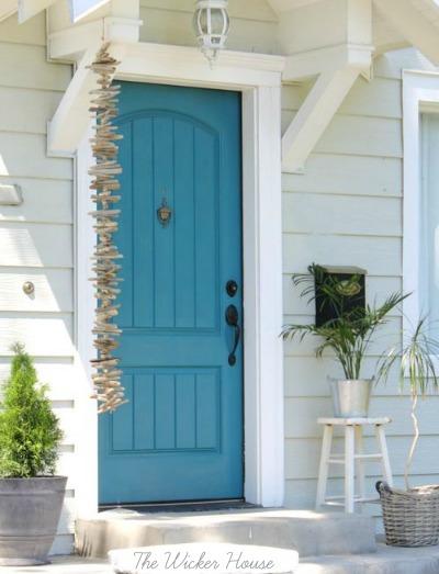 Front Door Driftwood Garland