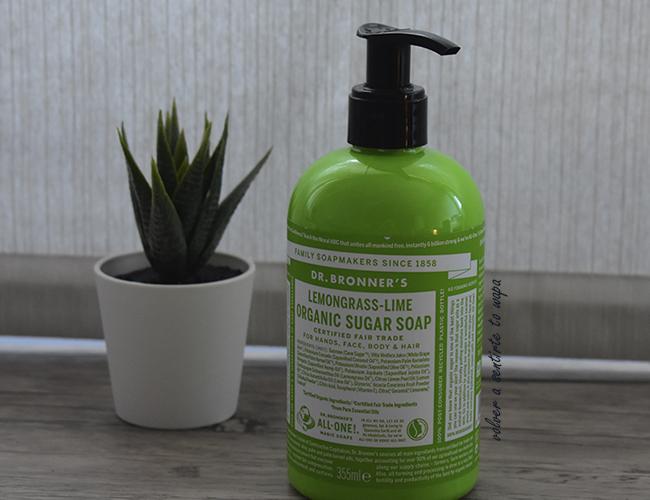 Jabón líquido orgánico de azúcar de lima, Dr Bronner's de la tienda online Branch & Root