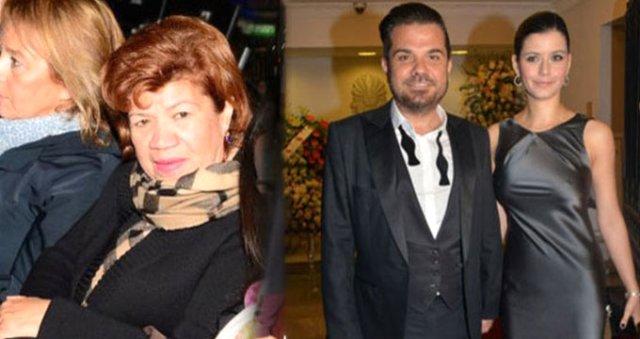 شجار على العلن بين الممثلة بيرين سات وحماتها !!!!