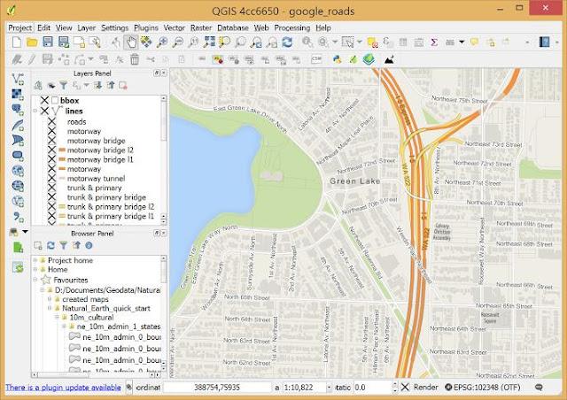 برامج نظم المعلومات الجغرافية GIS المجانية مفتوحة المصدر