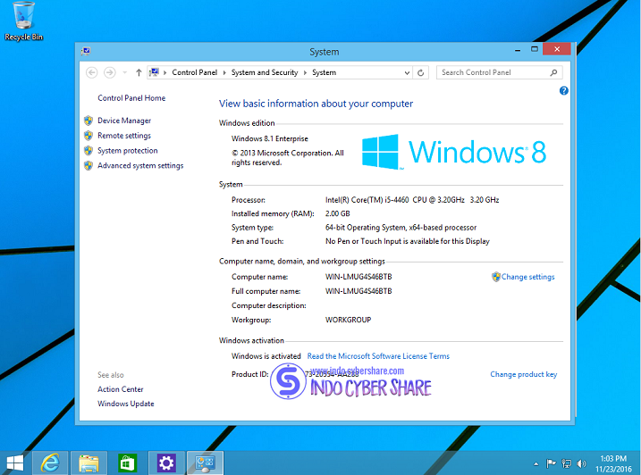 Windows 8.1 All in One x64 Update November 2016