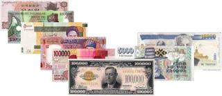 Daftar Mata Uang Negara-negara Seluruh Dunia
